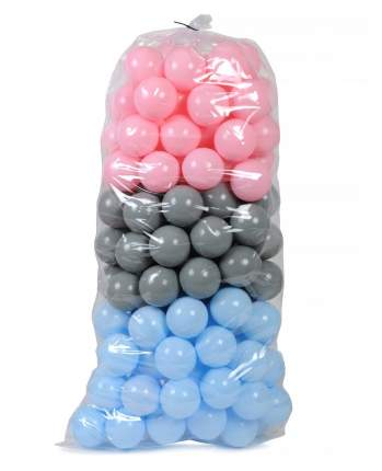Набор мячиков для сухого бассейна POLtoys 75 мм, 150 штук