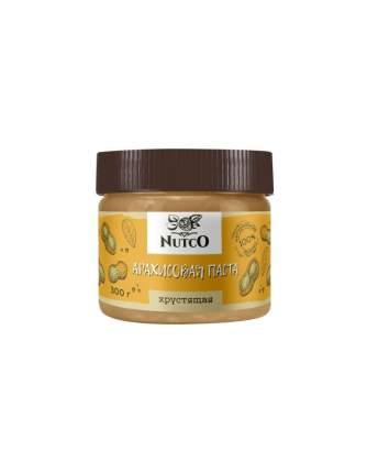 Арахисовая паста Nutco хрустящая 300 г