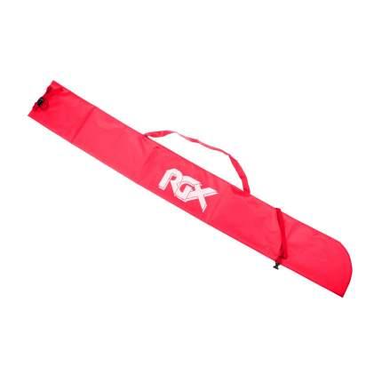 Чехол для одной пары лыж с палками RGX SB-001 красный 165 см.