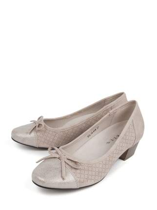 Туфли женские BERTEN BSL 18-458 бежевые 40 RU