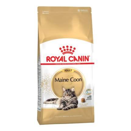 Сухой корм для кошек ROYAL CANIN Maine Coon Adult, мейн-кун, домашняя птица, 4кг