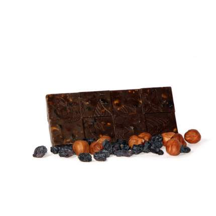 Шоколад Vegan-food Изюмительный с кэробом 50 г