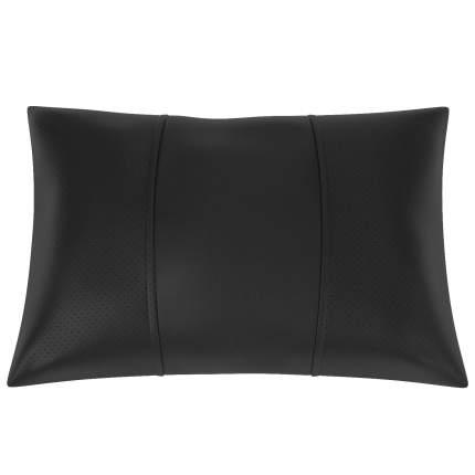 Подушка автомобильная AVTOLIDER1 Экокожа чёрный-чёрный