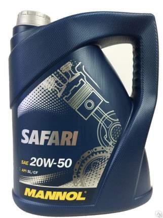 7404 MANNOL SAFARI 20W50 4 л. минеральное моторное масло 20W-50