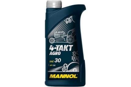 7203 MANNOL 4-TAKT AGRO SAE 30 0,6 л. Минеральное моторное масло для садовой техники