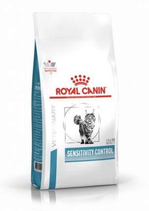 Сухой корм для кошек ROYAL CANIN Sensitivity Control, при пищевой аллергии, утка, 1,5кг