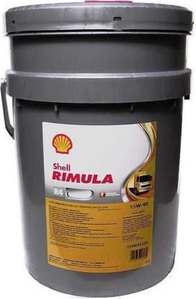 Shell 550047176 RIMULA R4 L 15W/40 (CJ-4) 20L
