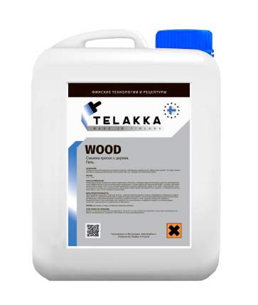 Смывка для краски с дерева Telakka Wood 5 кг