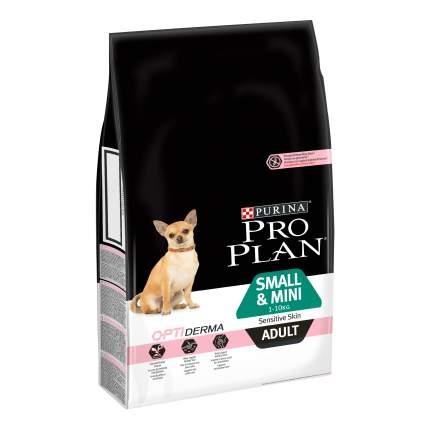 Сухой корм для собак PRO PLAN OptiDerma Small & Mini Adult, для мелких пород, лосось, 7кг