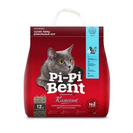 Комкующийся наполнитель для кошек Pi-Pi Bent Classic бентонитовый, 5 кг, 12 л