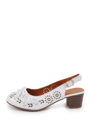 Туфли женские BERTEN 910210-7 белые 38 RU