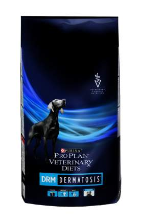Сухой корм для собак Pro Plan Veterinary Diets DRM Dermatosis, при дерматозах, 12кг