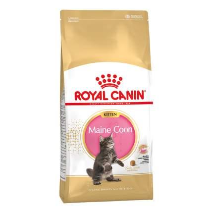 Сухой корм для котят ROYAL CANIN Maine Coon Kitten, мейн-кун, домашняя птица, 4кг