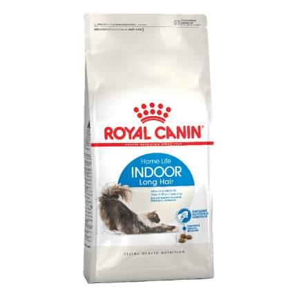 Сухой корм для кошек ROYAL CANIN Indoor Long Hair, для домашних длинношерстных, 2кг