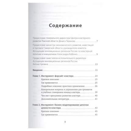 Территориальные кластеры: Семь инструментов управления