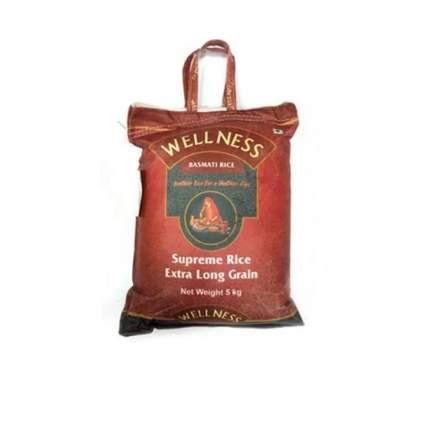 Рис басмати Wellness supreme rice 5 кг