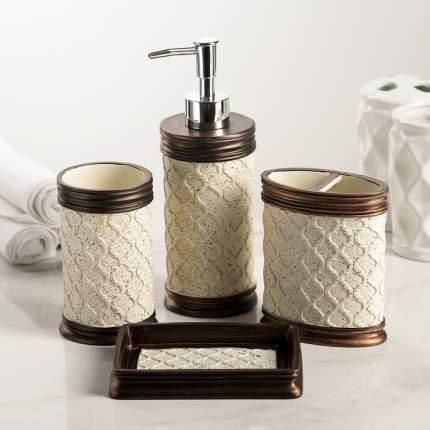 Набор аксессуаров для ванной комнаты «Ореон», 4 предмета