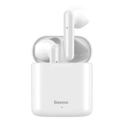 Беспроводные наушники Baseus Encok True Wireless W09 White