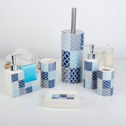 Набор для ванной Геометрия, 6 предметов