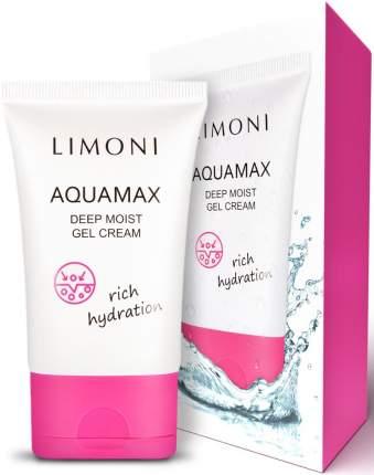 Гель-крем для лица глубокоувлажняющий  Limoni Aquamax Deep Moist Gel Cream 50 мл