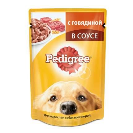 Консервы для собак Pedigree, говядина, 24шт, 100г