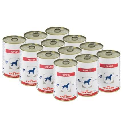 Консервы для собак ROYAL CANIN Vet Diet Hepatic, при заболеваниях печени, птица,12шт, 420г