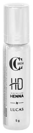 Хна для бровей Lucas' Cosmetics CC Brow Premium Henna HD Mink Brown 5 г