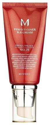 BB-крем Missha M Perfect Cover №21, Light Beige, 50 мл