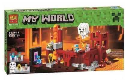 Конструктор Майнкрафт My World Подземная крепость 10393/79147 Lari Bela