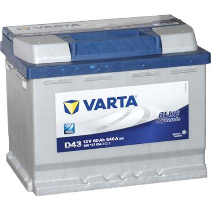 "Аккумулятор легковой ""VARTA"" Blue Dn. D43 (60Ач п/п) 560 127 054"
