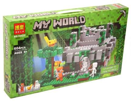 Конструктор Майнкрафт My World Храм в джунглях 10623/827/33053 Lari Bela