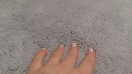 """Чехол на угловой диван плюшевый Venera """"Corner cover soft"""", цвет серый"""