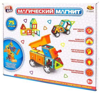 Конструктор Junfa Toys Магический магнит 75 деталей PT-01348