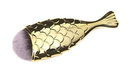 Кисть для макияжа TNL Professional Рыбка Золото S