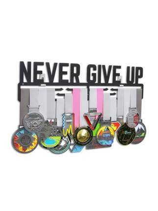 Держатель для медалей (Медальница) Never give up