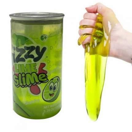 Слайм Fizzy Lime Slime Газировка, салатовый Junfa Toys