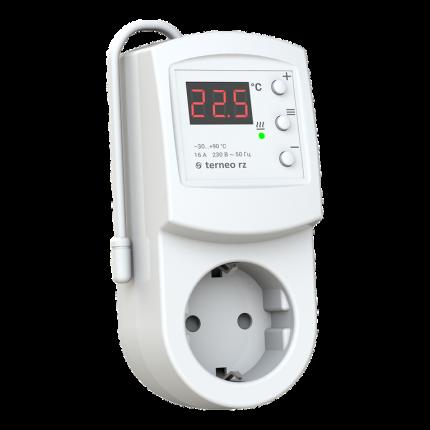 Терморегулятор (термостат) в розетку TERNEO RZ 51006