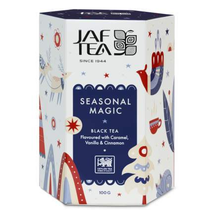 """Чай Jaf Tea """"Seasonal Magic"""", черный с добавками, 100 гр"""