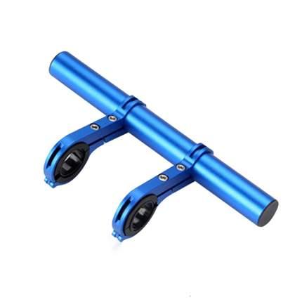 Кронштейн на руль велосипеда синий 20х9х3 см, MoscowCycling MC-KRON-6