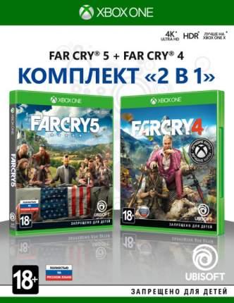 Комплект «Far Cry 4» + «Far Cry 5» (Нет пленки на коробке) для Xbox One