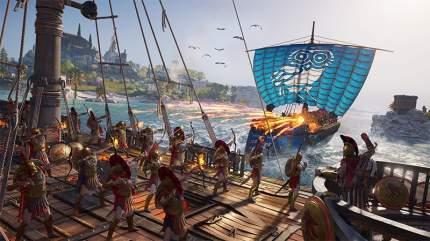 Игра «Assassin's Creed: Одиссея» + «Истоки» (Нет пленки на коробке) для Xbox One