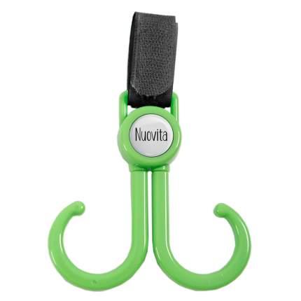 Двойной крючок для коляски Nuovita Nuovita Doppio gancio зеленый