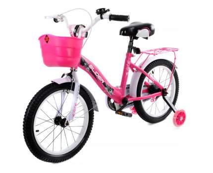 """Велосипед двухколесный Slider 16"""" розовый/серый"""
