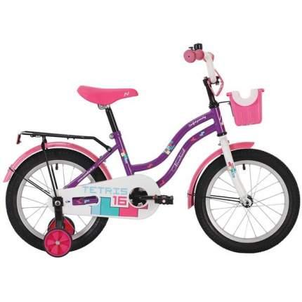 """Велосипед Novatrack Tetris 14"""" фиолетовый"""