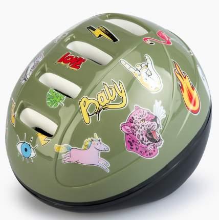 Шлем защитный Happy Baby Stonehead grass, размер S