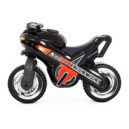 Каталка-мотоцикл Полесье МХ черная
