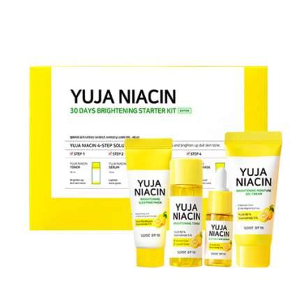 Набор для выравнивания тона Some By Mi Yuja Niacin 30 Days Brightening Starter Kit
