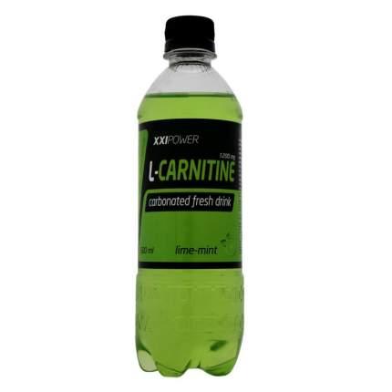 Напиток с l-карнитином XXI Power L-Carnitine, 500 мл, лайм/мята