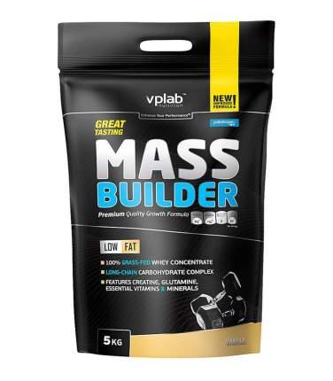 Гейнер Mass Builder, вкус «Ваниль», 5 кг, VPLab