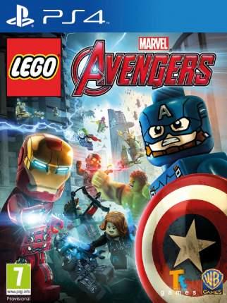 Игра LEGO: Marvel Мстители (Нет пленки на коробке) для PlayStation 4